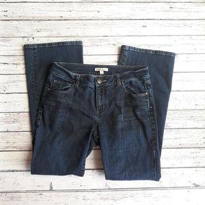 CABI Jeans Bootcut Dark Wash Size 8